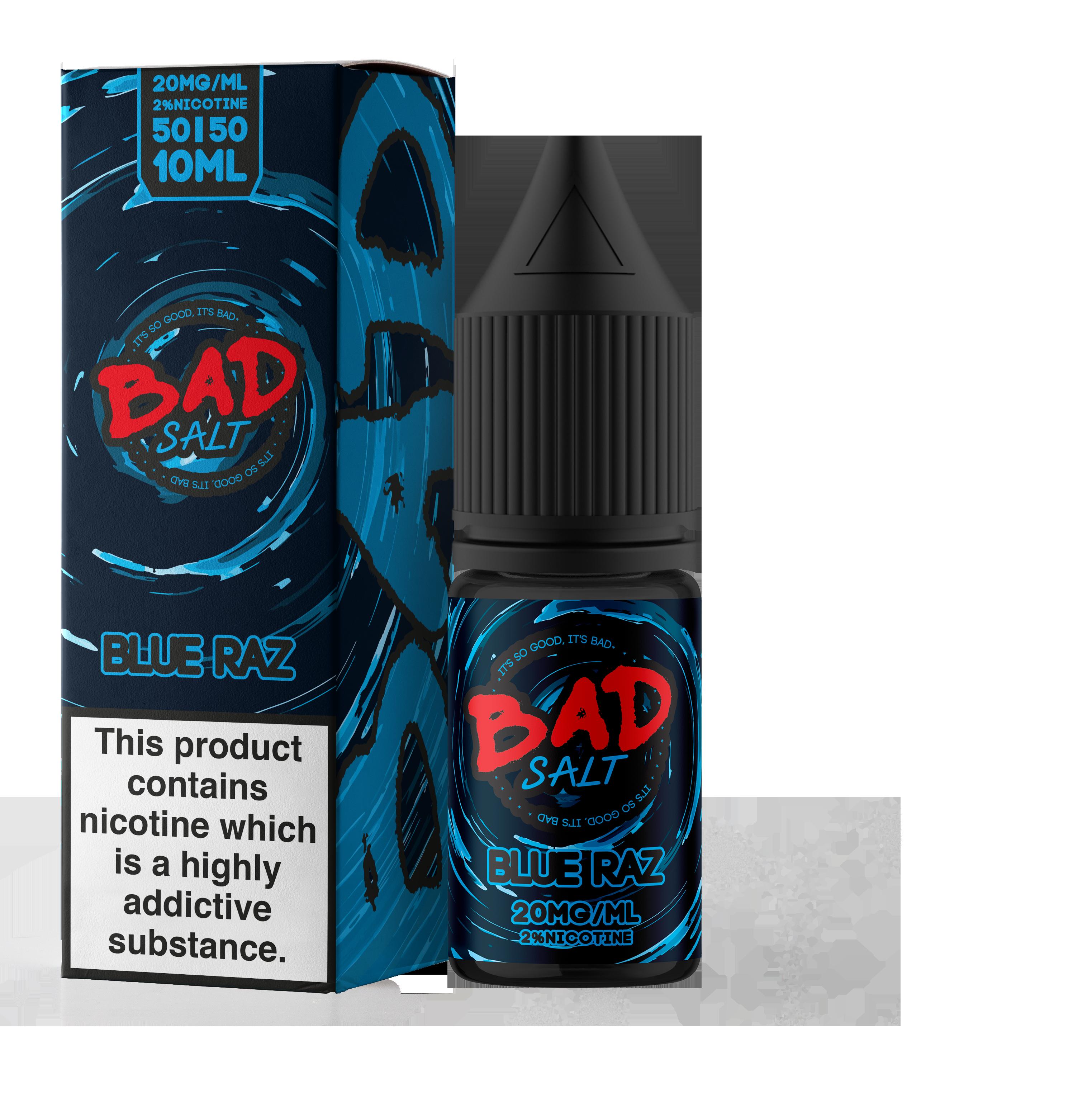 Bad Juice - Nic Salt - Blue Raz Candy [10mg]