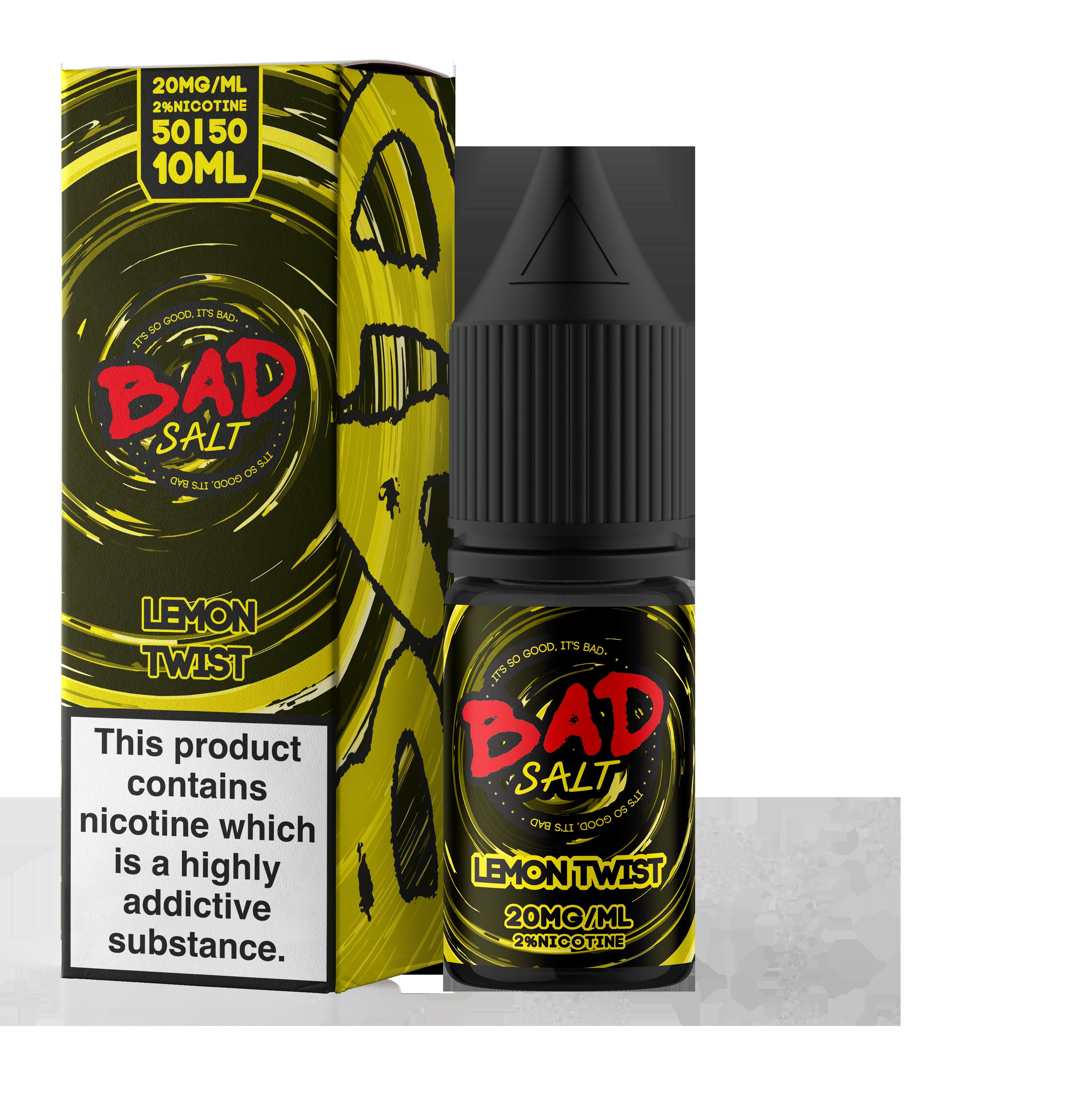 Bad Juice - Nic Salt - Lemon Twist [10mg]