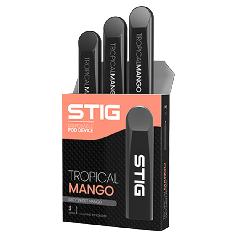 VGOD Stig Disposable Pod - 3 Pack - Tropical Mango