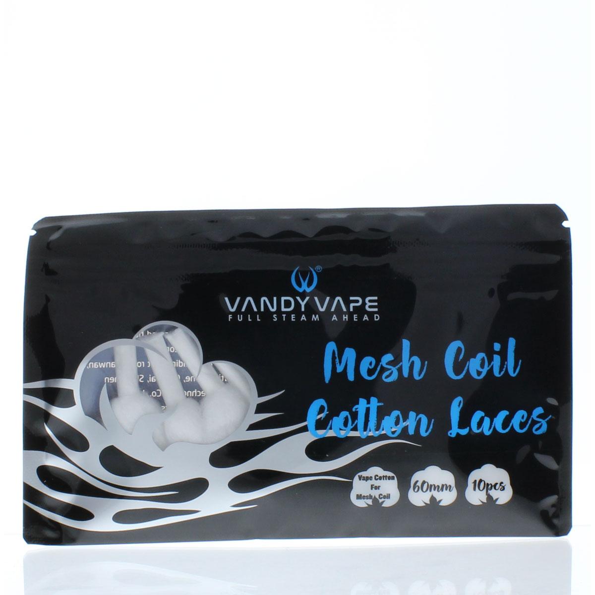 Vandy Vape Kylin M Cotton Laces - 10 Pack