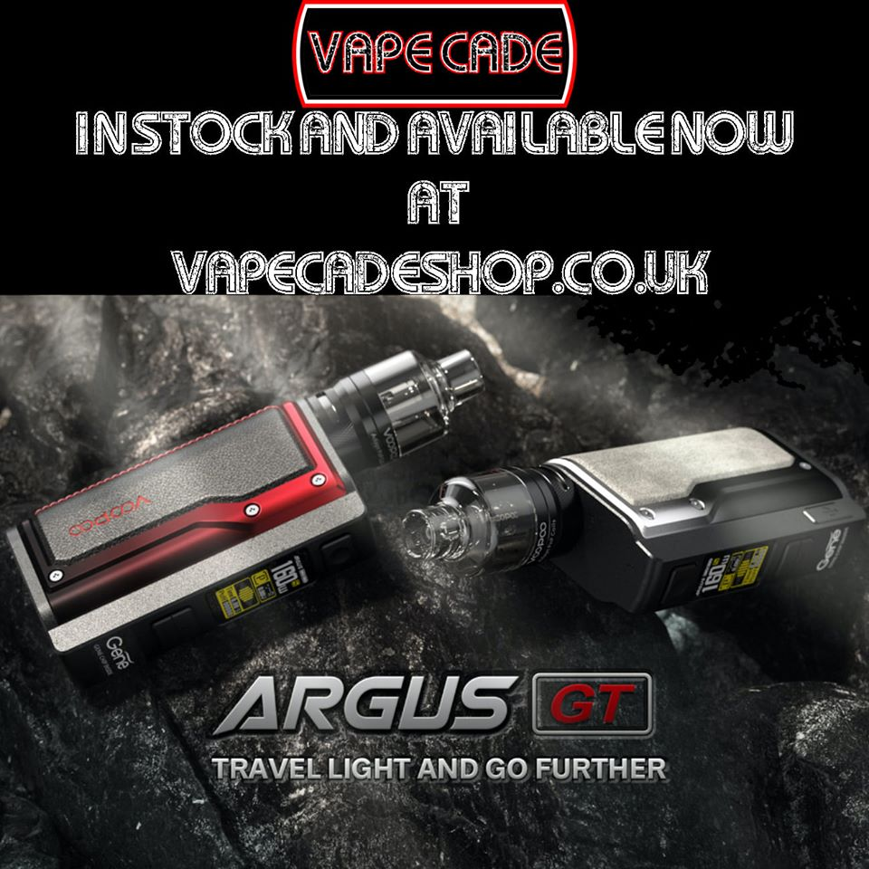 The New Voopoo Argus GT Kit